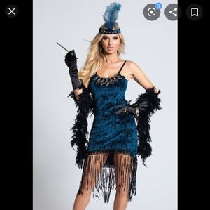 1920s Downton Doll Flapper Costume